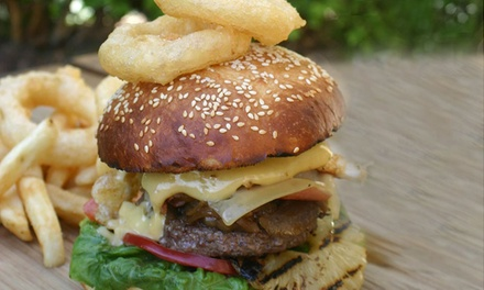 WagyūBurger + Chips and Beer or Wine $14.90 or 2 People $29 at Colombo's Family Restaurant Up to $51 Value