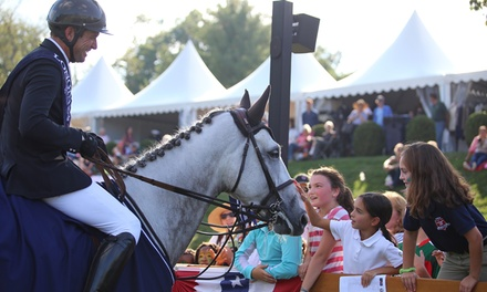 American Gold Cup Equestrian Show Jumping Event and Family Fun Day on September 29 or 30