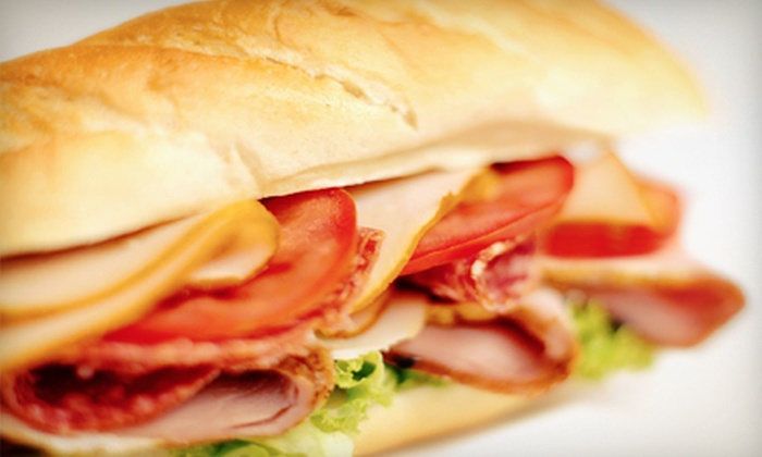 John's Pizza & Subs - Tonawanda: $10 for $20 Worth of Pizzas, Wings, Subs, and Nonalcoholic Drinks at John's Pizza & Subs