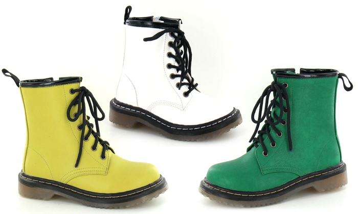 Zip and Lace-Up Fastening Girls' Boots for £9.99