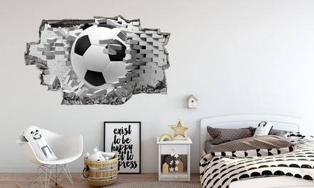 Children's 3D Broken Wall Sticker in Choice of Design