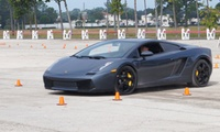 GROUPON: Up to 67% Off Exotic Car Driving Experience Velocity Driving