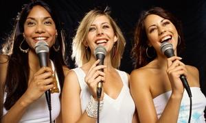 Elbe 58 - Karaoke Bar: 2 Stunden Karaoke mit Raummiete und Equipment für bis zu 8, 12 oder 20 Personen in der Elbe 58 - Karaoke Bar ab 12 €