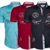 Herren-Hemd im Polo-Stil