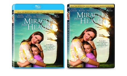 Miracles from Heaven Blu-ray or DVD