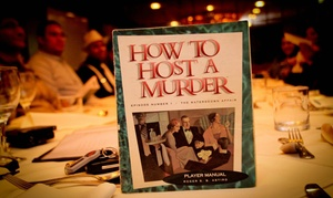 Host A Murder: Murder Mystery Party for 20 ($390), 30 ($569) or 40 People ($749) with Host A Murder (Up to $1,400 Value)