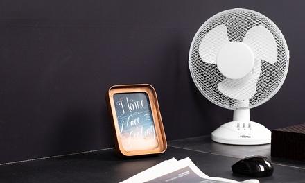 Oscillating 9'' Desk Fan