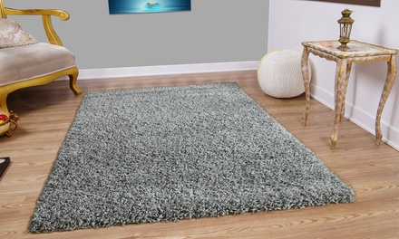 Modern Shaggy Rug in Choice of Size and Colour