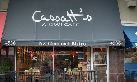 New Zealand Cafe Coupons