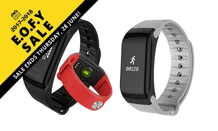 EOFYS: $24 for an F1 Smart Bracelet Fitness Tracker with a Heart Rate Monitor and More