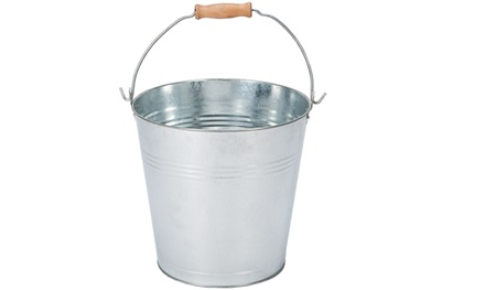 Galvanised Metal Buckets in Choice of Capacity from £4.98