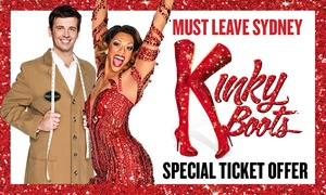 Kinky Boots: Kinky Boots Offer: Reserve A Tickets from $75, 21 June - 21 July, Capitol Theatre, Sydney (Don't pay $115)