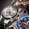 Joshua & Sons Men's Swiss Quartz Movement Multifunction Watch