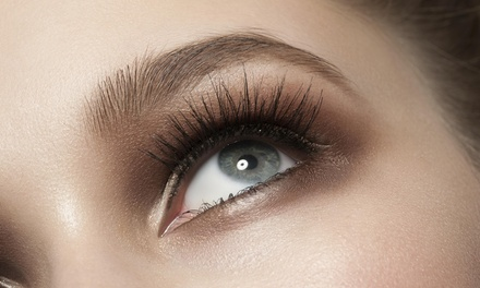 Full Set of Eyelash Extensions at Higher Ground Colour Studio (50% Off)