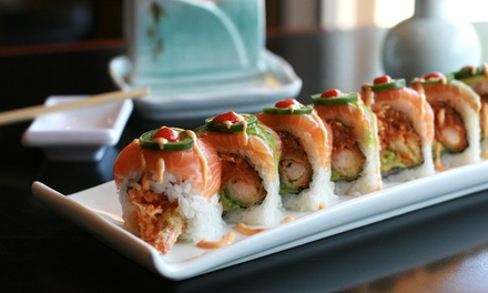 Japanese Fusion Food and Sushi at Cherry Sushi (Up to 42% Off). Two Options Available.