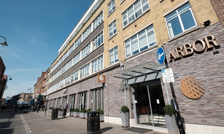 London: Club Double Room for Two with Option for Breakfast at 4* Arbor City Hotel London