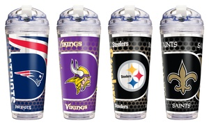 NFL Acrylic Tumbler with Straw