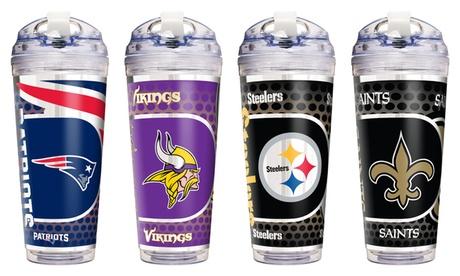 NFL Acrylic Tumbler with Straw 3ea87d25-56d8-4579-a359-f0bce9679605