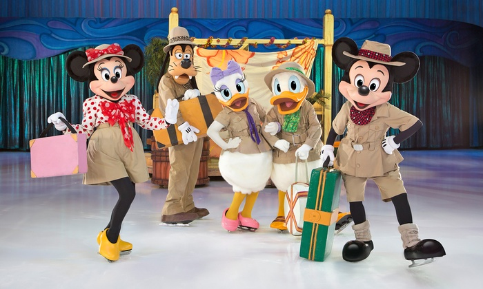 Disney On Ice Presents Passport to Adventure - Multiple Locations: Disney On Ice or Disney Live! Presented by YoKids (Up to 44% Off). Choose from Three Venues.