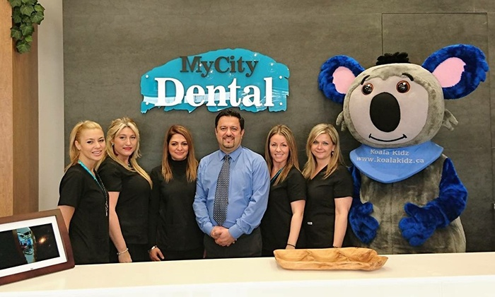 My CIty Dental - Vaughan: Teeth Cleaning and Exam for Children and Adults (Up to 93% Off). Four Options Available.
