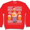 Men's Ugly Christmas Sweatshirt (Size M)
