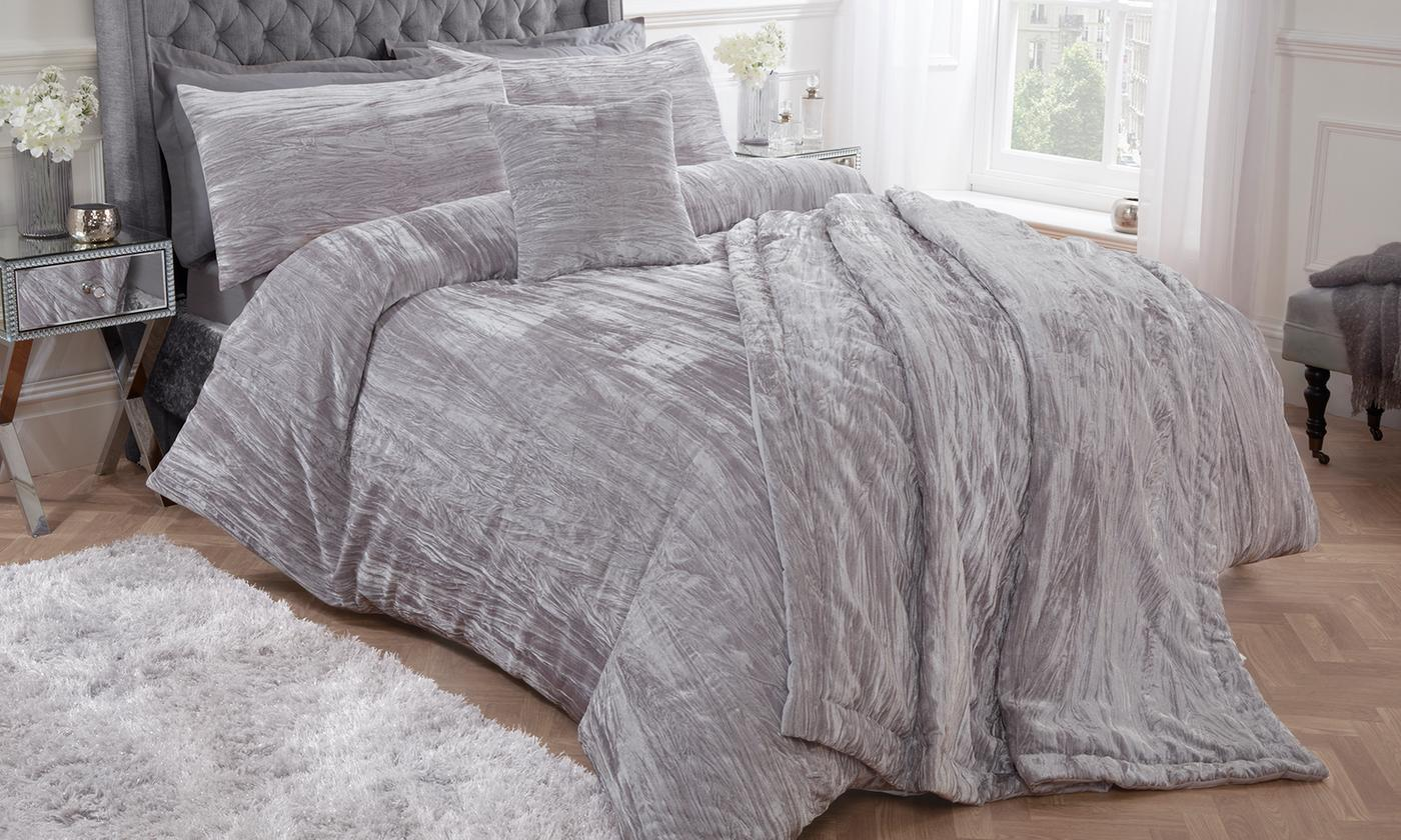 Pieridae Decadent Textured Velvet Bedroom Range for £9