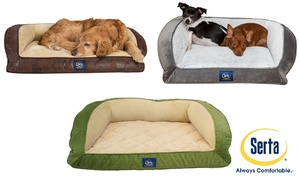Serta Orthopedic Foam Couch Bed for Pets