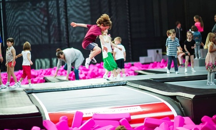 Trampoline Access for Terrifying Toddlers Halloween Event October 30th and October 31st (Up to 47% Off)
