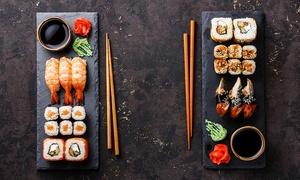 Noi: Exklusive Sushi-Platte für 2 oder 4 Personen bei Noi (bis zu 48% sparen*)