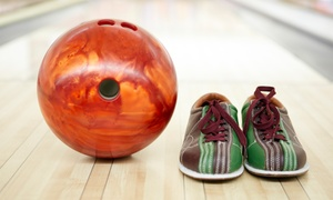 Spare Time Greensboro: Two Games of Bowling and Shoe Rental for Two or Four at Spare Time (Up to 50% Off)