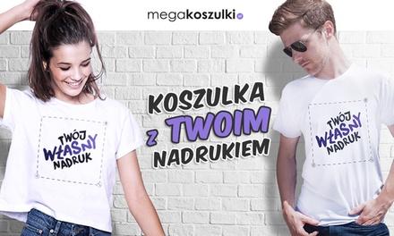 4a9ec47847e058 MegaKoszulki.pl: Koszulka z Twoim nadrukiem: biała (36,99 zł) lub kolorowa  (41,90 zł) i więcej