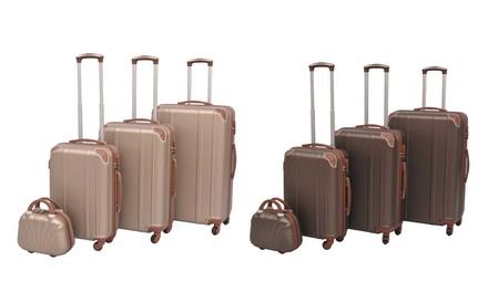 Set de 3 à 5 valises en ABS, modèles et coloris au choix (SaintEtienne)