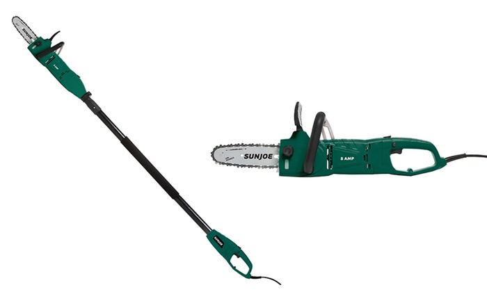 Up To 9% Off on Sun Joe Convertible Chain Saw | Groupon Goods