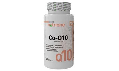 1, 2 o 3 botes de 30 cápsulas energéticas Coenzima Q10 para un tratamiento de hasta 3 meses