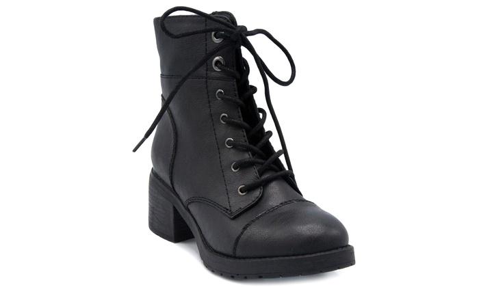 Rampage Women's Krista Combat Boots