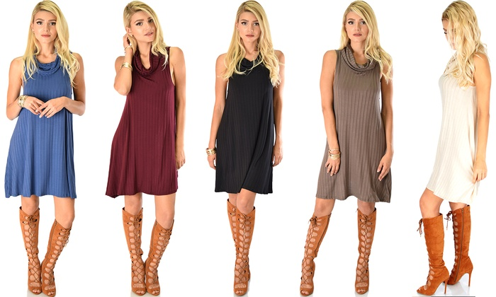 Lyss Loo Groove Thing Shift Dress