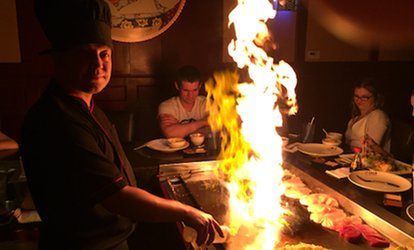 $12 for $25 Worth of Japanese Dinner for Two at Fuji Japanese Steakhouse