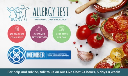 Food Intolerance Test: for One, $49 for Two or $89 for Four or $19 for One Pet