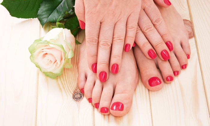 Ocean Beauty Salon and Skin Care Clinic - Coral Gate: One or Two Classic Manicures with Spa Pedicures at Ocean Beauty Salon and Skin Care Clinic (Up to 56% Off)