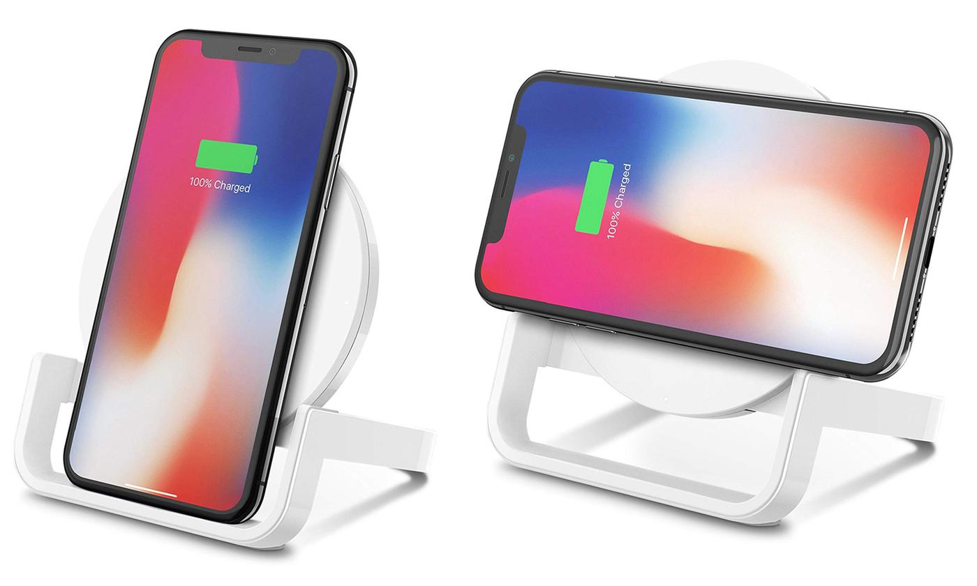 Belkin Boost Up Wireless Charging Stand for Qi-Enabled Devices Including iPhone and Samsung Galaxy