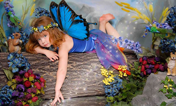 Photo Perfections - Multiple Locations: $59 for a Kids' Fantasy Session with Costumes and a Portrait Package at Photo Perfections (Up to $195 Value)