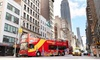 Up to 52% Off CitySights NYC Downtown Hop-on Hop-off Bus Tour
