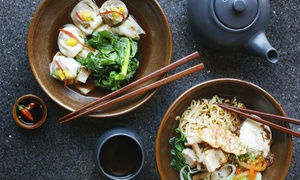 Rising Phoenix: Chinese Buffet with Wine and Ice Cream for Two or Four at Rising Phoenix (Up to 34% Off)