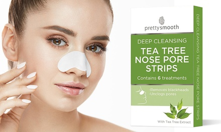 6, 12 or 24 Deep Cleansing Tea Tree Nose Pore Strips