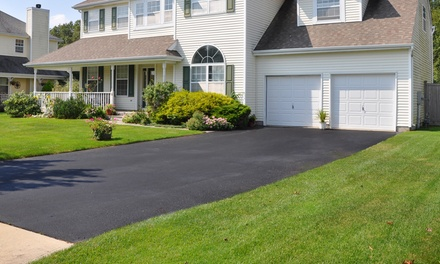 Driveway Maintenance Package for Up to 750, 1,000, or 1,500 Square Feet from Tobias Asphalt (Up to 51% Off)