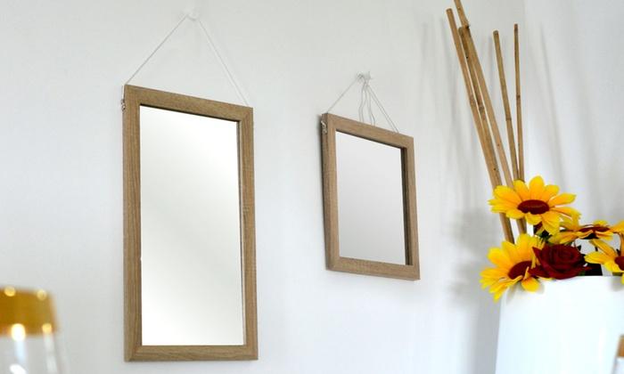 Specchi da muro modello Wall | Groupon Goods