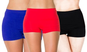 Lot shorty confort jusqu'au 2XL
