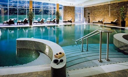 Co. Cork: 1 or 2 Night for Two with Full Irish Breakfast, Spa Credit and VIP Spa Access at 5* Fota Island Resort