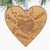 41% Off Personalized Puzzle Ornament from Personalization Mall