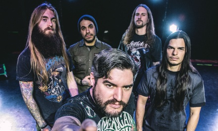Suicide Silence, 20 - 24 March 2017, Various Locations, Standing Ticket from £14